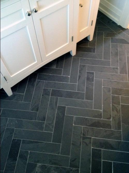 Slate Bathroom Floor Photos