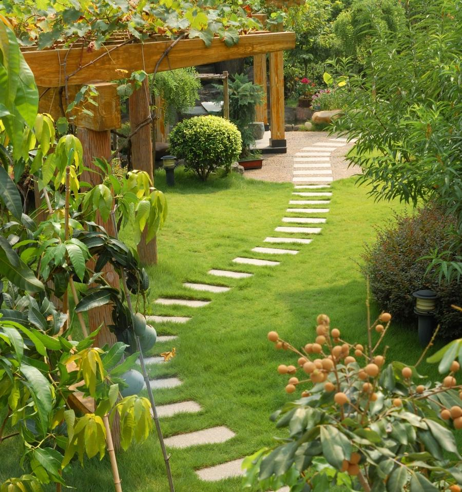 Garden Landscaping Pictures Photos