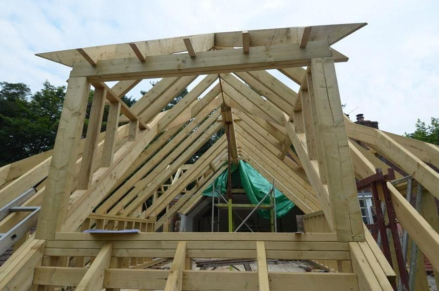 Attic Conversions Okc: Pitched Roof Dormer Photo