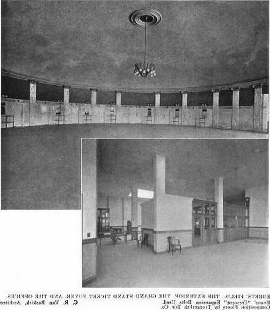 Ebbets Field Interior Photos
