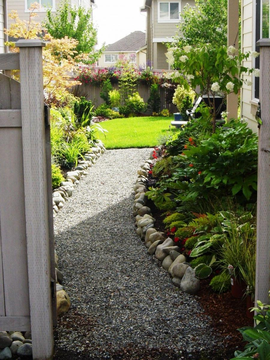 side garden ideas photos