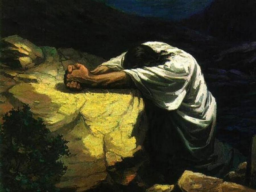 Jesus In The Garden Of Gethsemane Photos