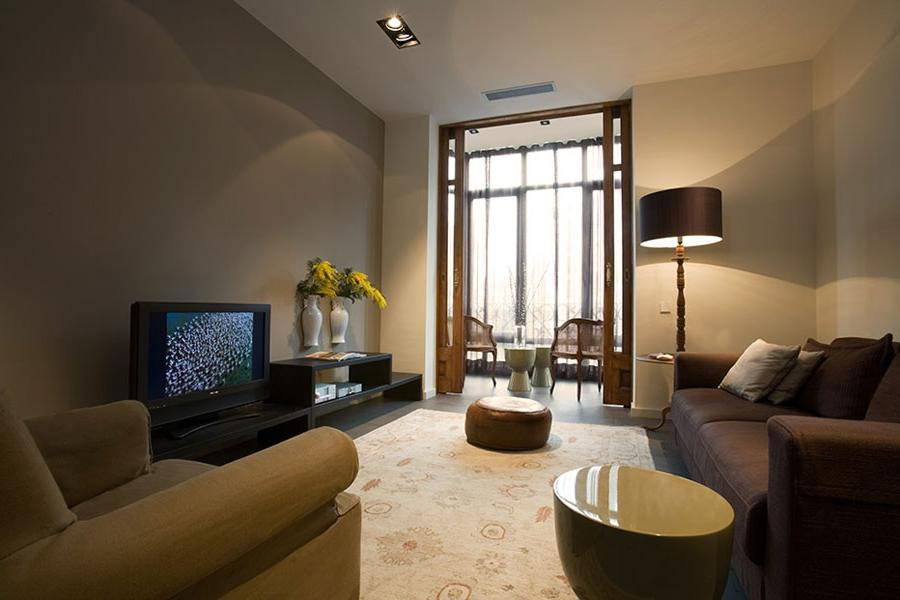 modern classic style apartment design in Barcelona u0026middot;...