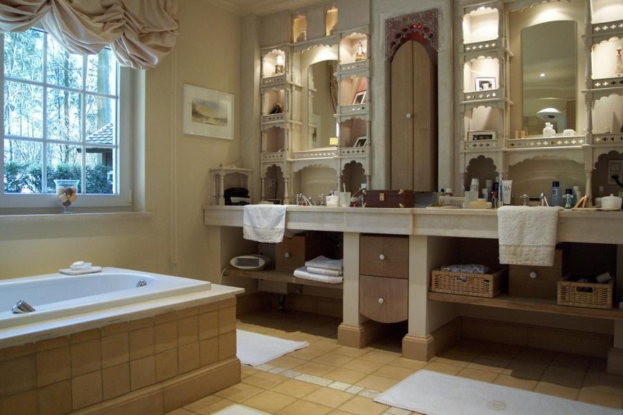 Decoration salle de bain photos for Deco salle de bain peinture
