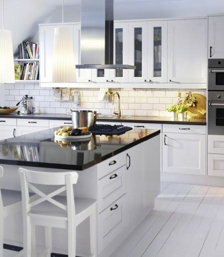 Ikea Kitchen Gallery: Ikea Adel White Kitchen Photos