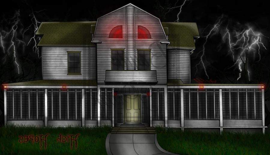 Amityville Horror House -Digital-Complete by Lady-Elita-One ...