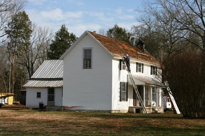 Construction began on the old farm house in January, 2013. This...