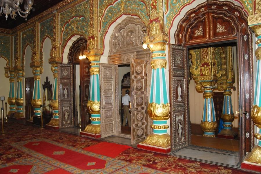 Mysore Palace Interior Photos