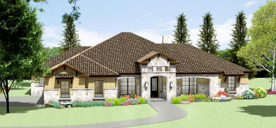 Texas Hill Country House Plans Photos