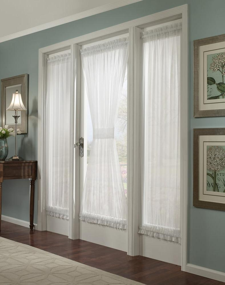 Photos french door draperies - Decorative french door curtains designs and buying tips ...