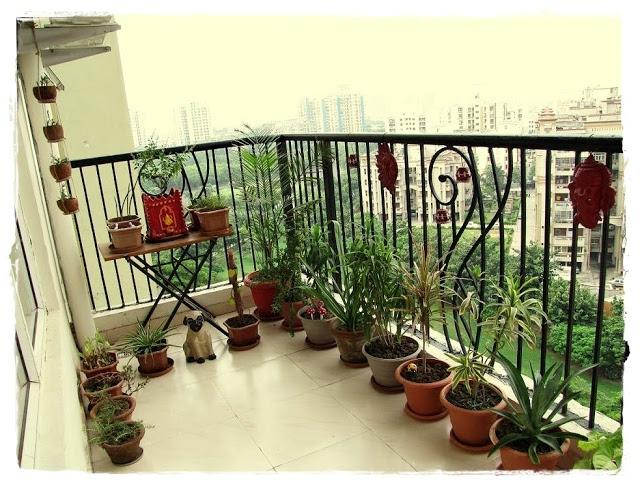 These five hanging pots are just rabdi handis which I have...