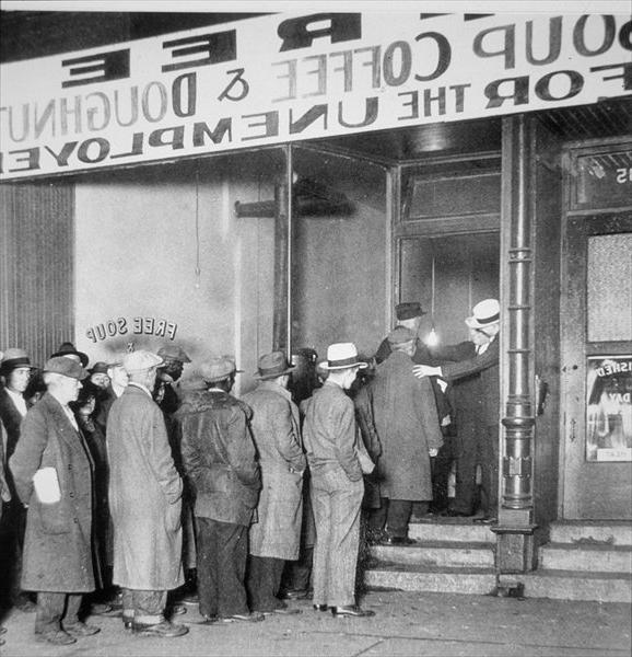 Soup Kitchen Photos Great Depression
