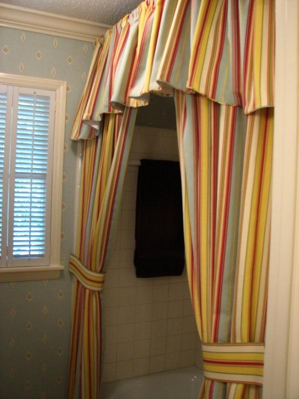 custom shower curtain photo