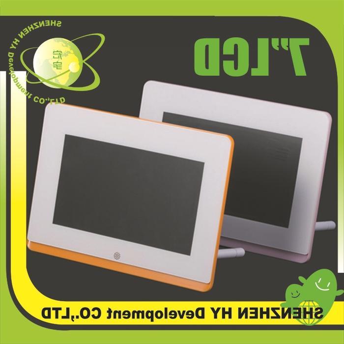 Glass digital photo frame
