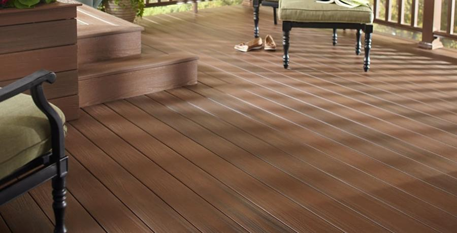 ... Veranda ArmorGuard Composite Decking - Walnut ...