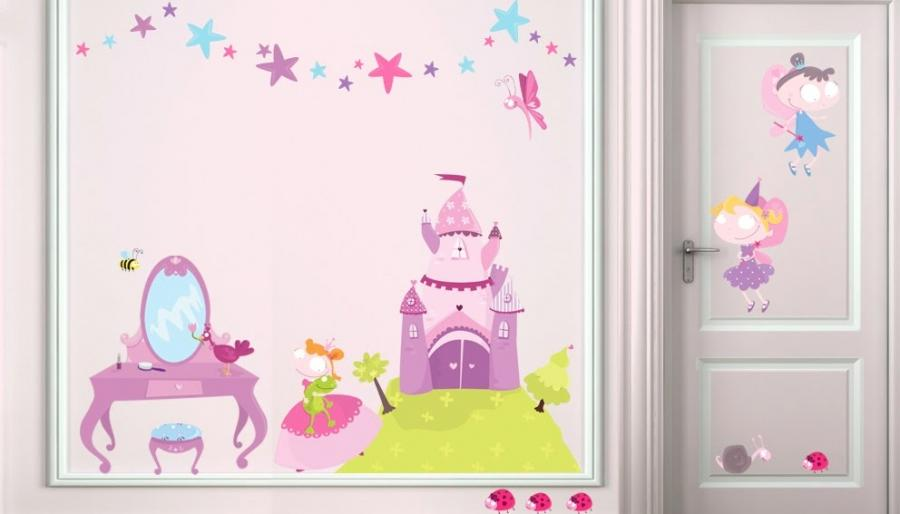 Photo decoration chambre princesse for Deco princesse chambre
