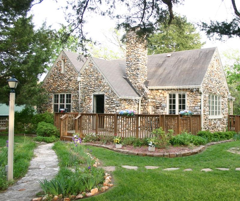 Cottage landscaping photos for Free rock garden designs