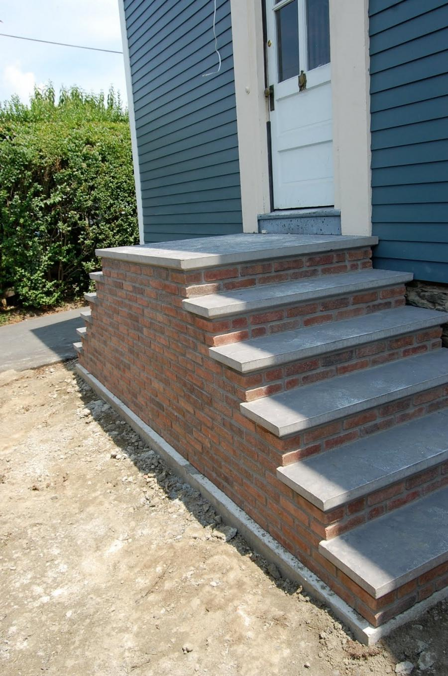Photos Of Brick Front Steps