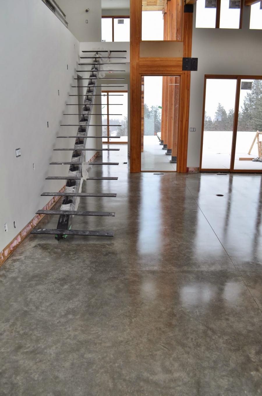 Photos Polished Concrete Floors Homes
