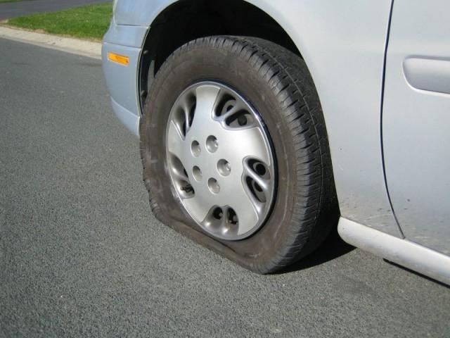 I call it the flat tire meet