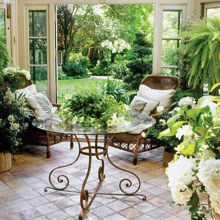 Indoor garden photo for Inside garden room