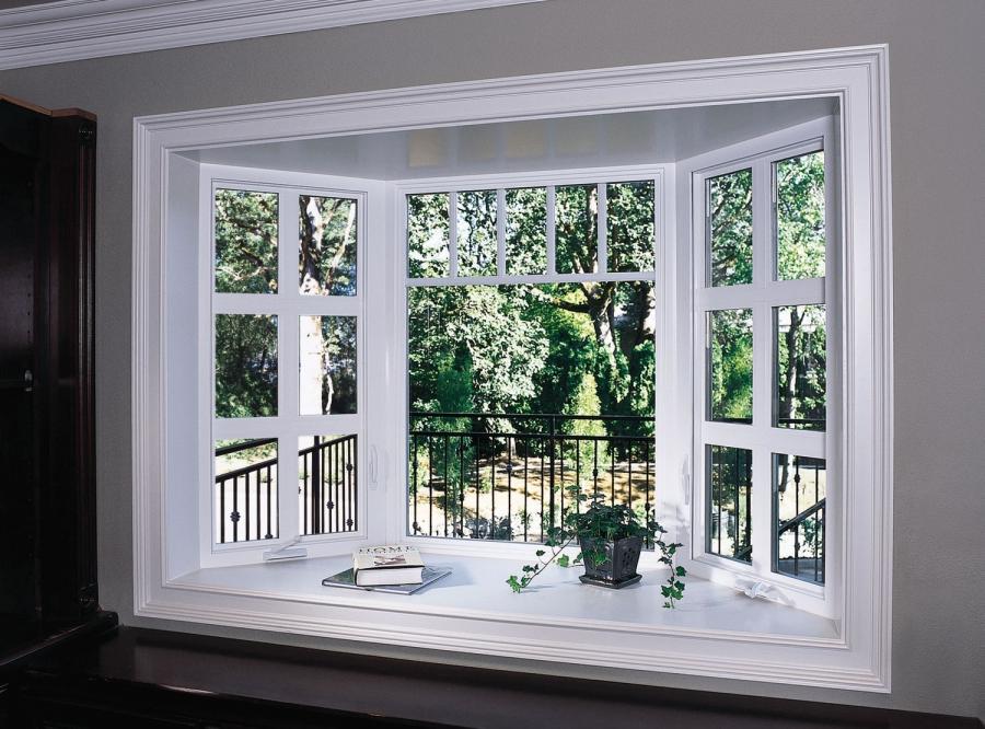 Kitchen Bow Windows : Kitchen bay window photos
