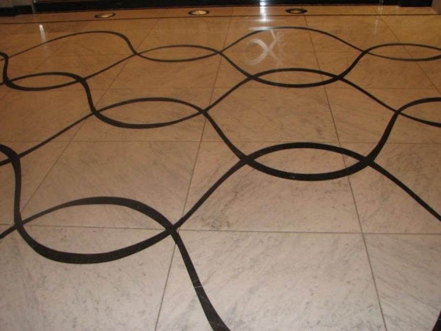 Grab Simple Curve In Marble Flooring Design ...