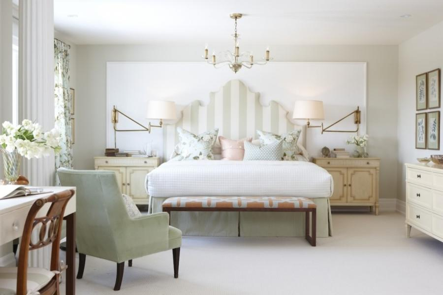 Elegant White Bedroom Inspiration With Charm Tone