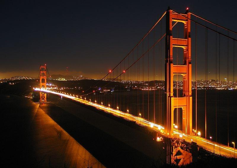 Construction of the Golden Gate Bridge started in January 1933...