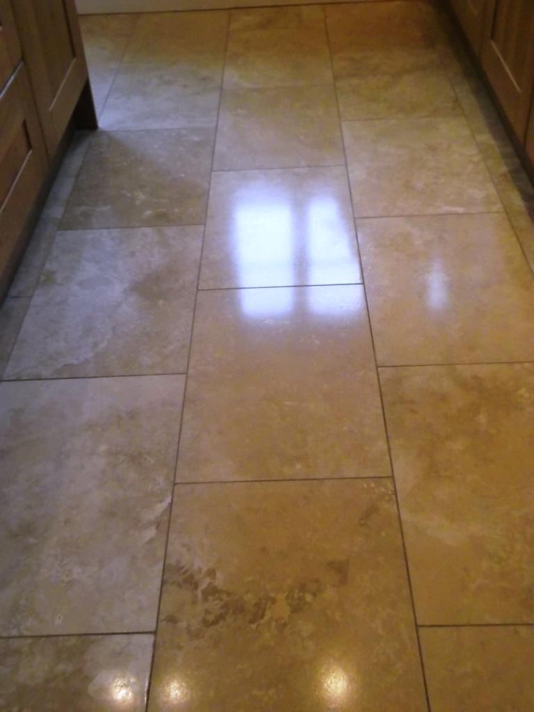 Travertine Tile Floor Photos