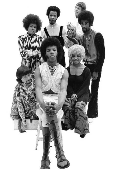 Sly Stone and Mohawk Sly and the Family Stone ...