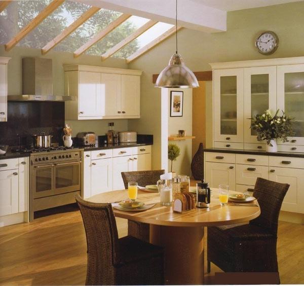 Shaker Kitchens, Cream, White, Classic, Modern  Violet Designs source