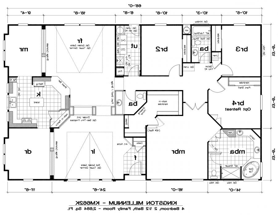 Floor home manufactured photo plan for Photo plan
