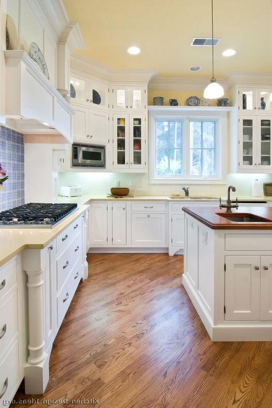 Kitchen Design : kitchens featuring white cabinets in traditional...
