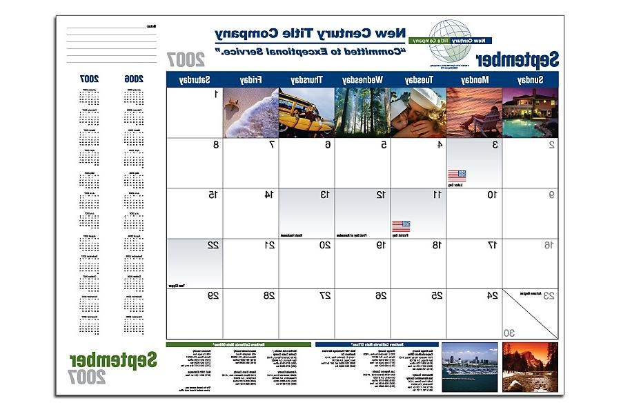 personal photo calendar