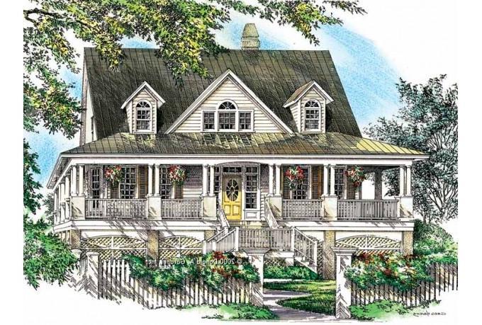 Wrap Around Porch House Plans With Photos
