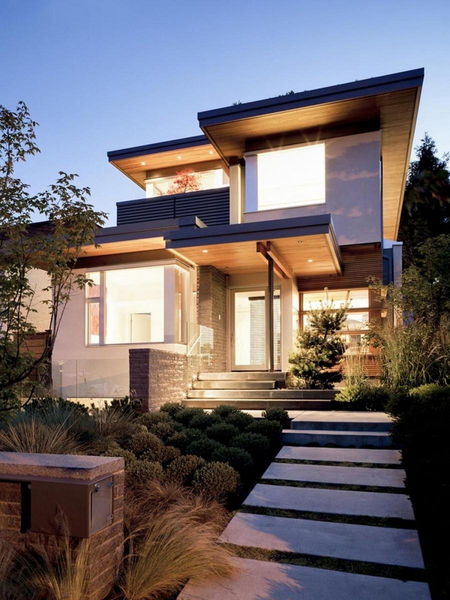 Minimalist houses photos for Minimalist exterior design