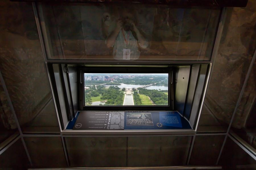 Washington Monument Interior Photos