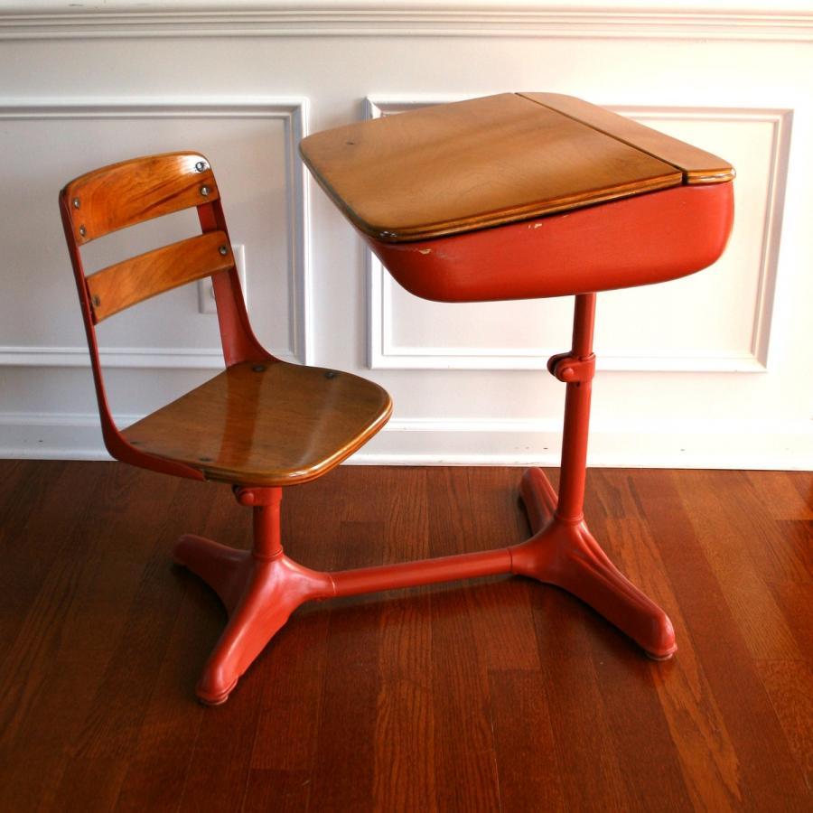 s of old school desks