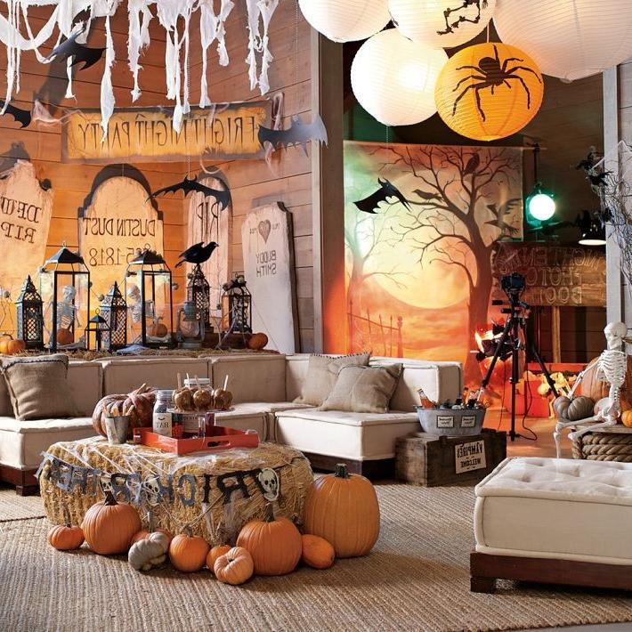 Decorated Halloween Rooms Photos