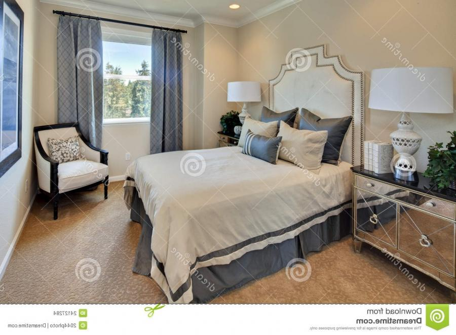 Model Home Master Bedroom Stock Images Image 24127284 Source