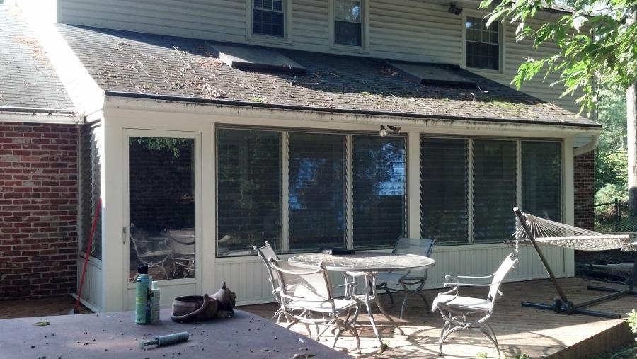 Enclosed porch ideas photos for Enclosed back porch ideas