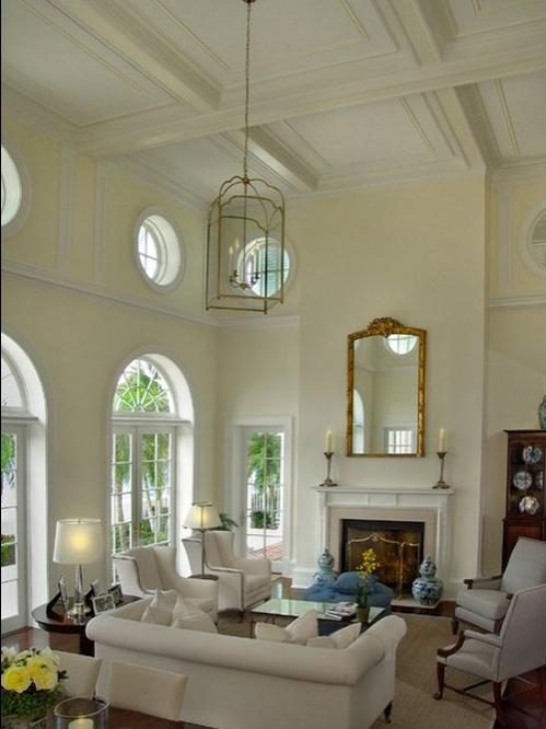 HomeSpirations~Decorating Your Home With High Ceilings