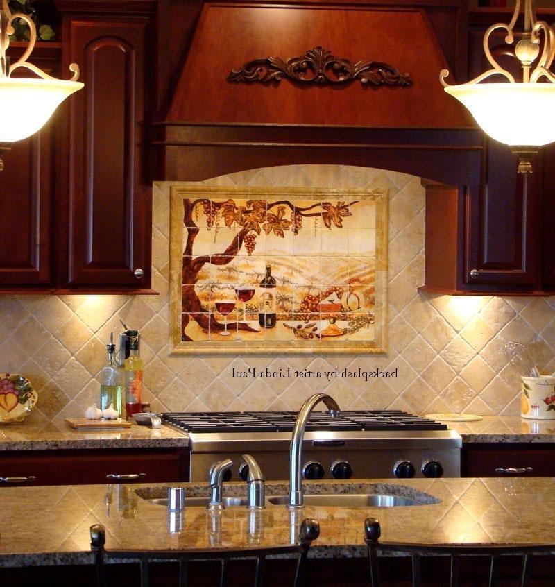 Tuscan Kitchen Tile Backsplash Ideas: Tuscan Kitchen Backsplash Photos