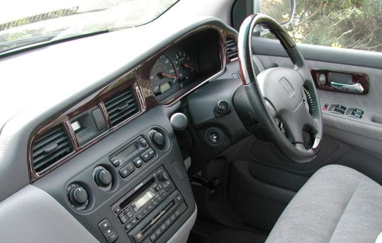 2001 Honda Odyssey Interior Photos