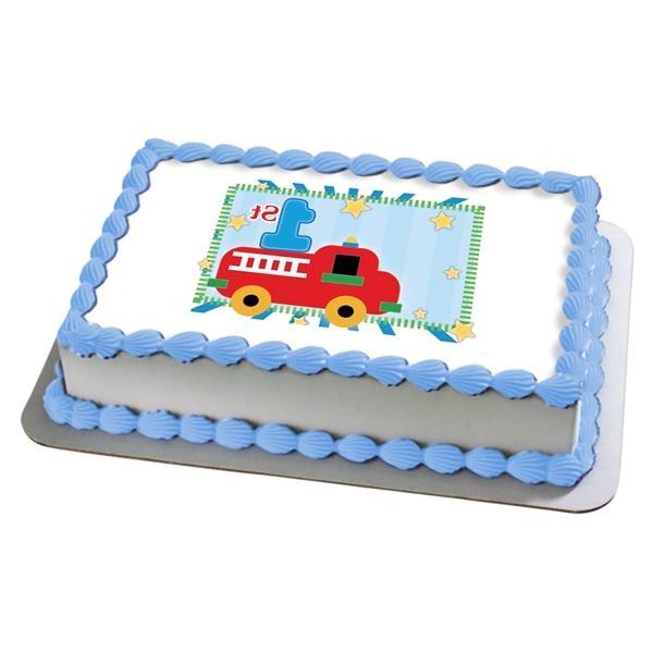 Edible Cake Decorations Boy : Eatable photo cake decoration