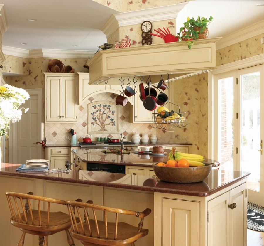 20 Cool French Country Inspired Kitchen Ideas Picture Gallery [...