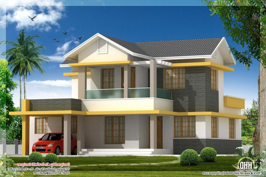 Beautiful house plans with photos in india for Beautiful houses in india
