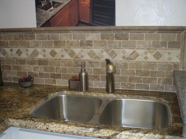 tumbled stone backsplash get domain pictures getdomainvids source