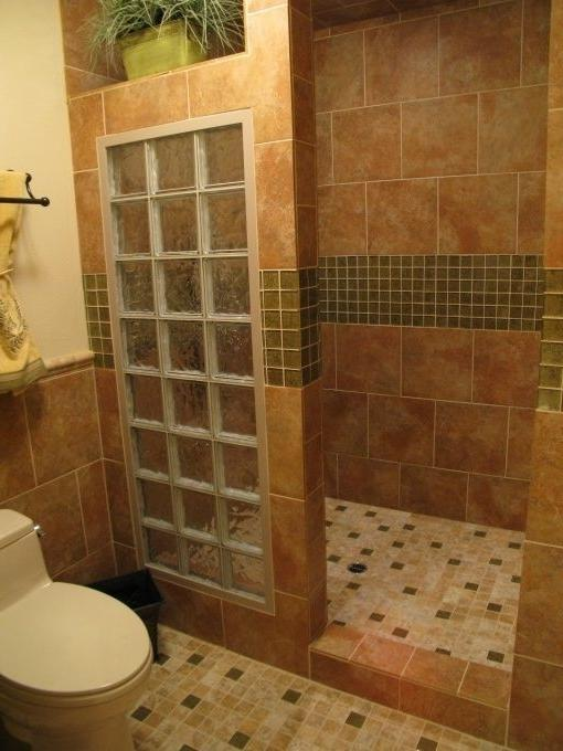 Photos of remodeled bathrooms with walk in showers for Empty master bathroom